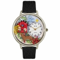 Birdhouse Cat Watch in Silver Unisex U 0120005