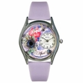 Birthstone Jewelry April Birthstone Watch Classic Silver Style S 0910004