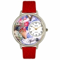 Birthstone Jewelry April Birthstone Watch in Silver Unisex U 0910004