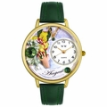 Birthstone Jewelry August Birthstone Watch in Gold or Silver Unisex G 0910008
