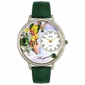 Birthstone Jewelry August Birthstone Watch in Silver Unisex U 0910008