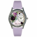 Birthstone Jewelry February Birthstone Watch Classic Silver Style S 0910002