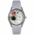 Birthstone Jewelry January Birthstone Watch Classic Silver Style S 0910001