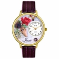 Birthstone Jewelry June Birthstone Watch in Gold or Silver Unisex G 0910006