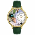 Birthstone Jewelry May Birthstone Watch in Gold or Silver Unisex G 0910005