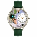 Birthstone Jewelry May Birthstone Watch in Silver Unisex U 0910005