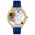 Birthstone Jewelry November Birthstone Watch in Gold or Silver Unisex G 0910011