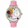 Birthstone Jewelry October Birthstone Watch in Silver Unisex U 0910010