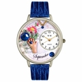 Birthstone Jewelry September Birthstone Watch in Silver Unisex U 0910009