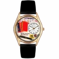 Book Lover Watch Classic Gold Style C 0450003