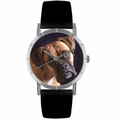 Boxer Print Watch in Silver Classic R 0130014