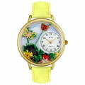 Butterflies Watch in Gold or Silver Unisex G 1210001