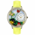 Butterflies Watch in Silver Unisex U 1210001