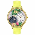 Cat Nap Watch in Gold or Silver Unisex G 0120013
