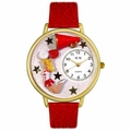 Cheerleader Watch in Gold or Silver Unisex G 0820015