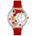 Cheerleader Watch in Silver Unisex U 0820015