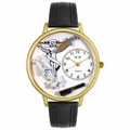 Chiropractor Watch in Gold or Silver Unisex G 0620004