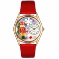 Christmas Nutcracker Watch Classic Gold Style C 1220007