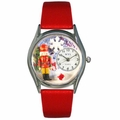 Christmas Nutcracker Watch Classic Silver Style S 1220007