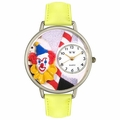 Clown Face Watch in Silver Unisex U 0210002