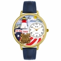 Coast Guard Watch in Gold or Silver Unisex G 1220027