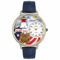Coast Guard Watch in Gold or Silver Unisex U 1220027
