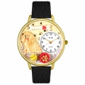 Cocker Spaniel Watch in Gold or Silver Unisex G 0130027