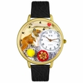 Collie Watch in Gold or Silver Unisex G 0130004