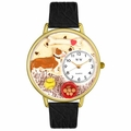 Corgi Watch in Gold or Silver Unisex G 0130029