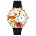 Corgi Watch in Silver Unisex U 0130029