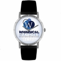 Corporate Logo Print Watch in Silver Classic R 0000014