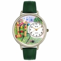 Croquet Watch in Silver Unisex U 0810018