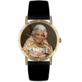 Custom In Memory Photo Watch Classic Gold Style P 0000008