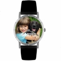 Custom Pets Photo Watch Classic Silver Style R 0000007