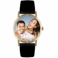 Custom Sweetheart Photo Watch Classic Gold Style P 0000006