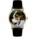 Custom Wedding Photo Watch Classic Gold Style P 0000002