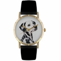 Dalmatian Print Watch in Gold Classic P 0130031