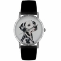 Dalmatian Print Watch in Silver Classic R 0130031