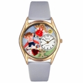 Day Care Teacher Watch Classic Gold Style C 0640007