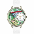 Dental Assistant Watch in Gold or Silver Unisex U 0620032