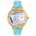 Dentist Watch in Gold or Silver Unisex G 0620001
