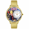 Diva Mom Watch in Gold or Silver Unisex G 1010022
