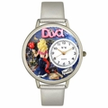 Diva Mom Watch in Gold or Silver Unisex U 1010022