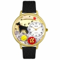 Doberman Pinscher Watch in Gold or Silver Unisex G 0130035