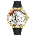 Doctor Watch in Gold or Silver Unisex G 0620018