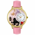 Dog Groomer Watch in Gold or Silver Unisex G 0630007