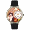 Dog Lover with Miniatures Watch in Silver Unisex U 0130080
