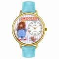Doll Lover Watch in Gold or Silver Unisex G 0220001