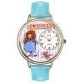 Doll Lover Watch in Silver Unisex U 0220001