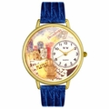 Drama Theater Watch in Gold or Silver Unisex G 0420008